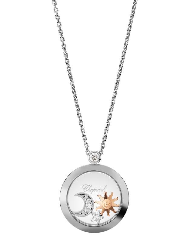 Colier Chopard Happy Diamonds Themes - Sun, Mood and Stars