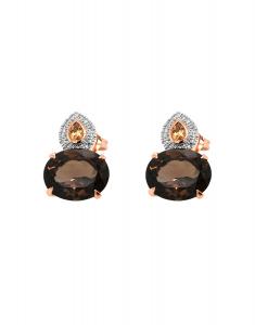 Bijuterie aur Color Stone E24287SMQCT-P