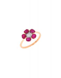Bijuterie aur Color Stone R24524R-P