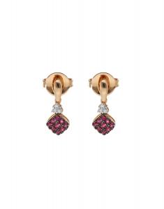 Bijuterie aur Color Stone E24558R-P