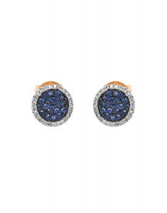 Bijuterie aur Color Stone E24569S+D-Y
