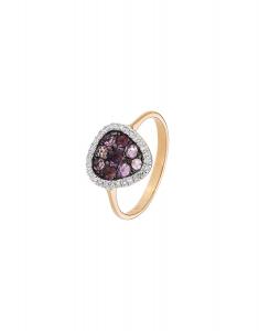 Bijuterie aur Color Stone R24783RAM-P