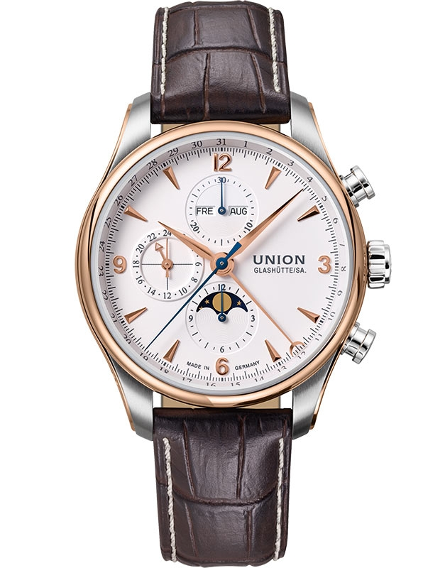 Union Glashutte Belisar Chronograph Moonphase D904.425.46.017.11