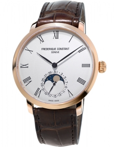 Frederique Constant Manufacture Slimline Moonphase FC-705WR4S4