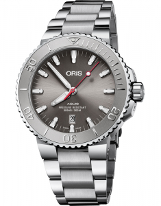Oris Diving Aquis Date Relief The Shape of Water 73377304153-0782405PEB