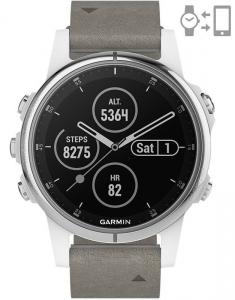 Garmin Fēnix® 5S Plus Sapphire White set 010-01987-05