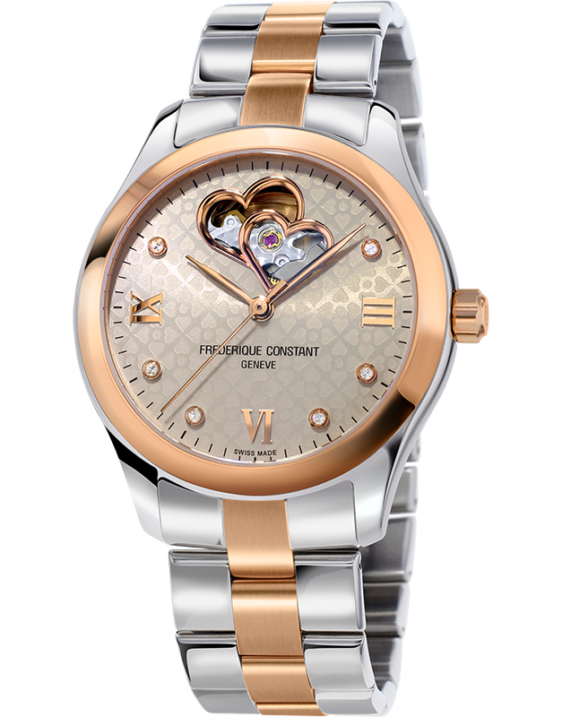 Frederique Constant Ladies Automatic Double Heart Beat FC-310LGDHB3B2B