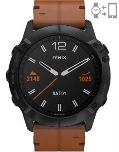 Garmin Fēnix® 6X Sapphire Black DLC 010-02157-14