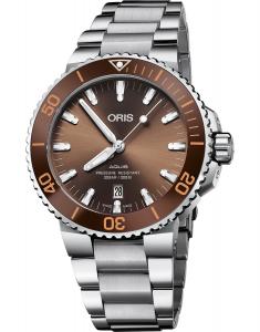 Oris Diving Aquis Date 73377304152-0782405PEB