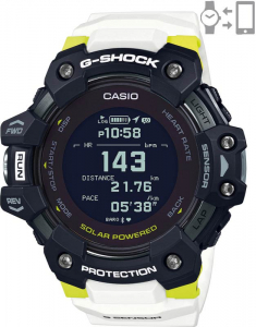 Casio G-Shock G-Squad Smart Watch Heart Rate Monitor GBD-H1000-1A7ER