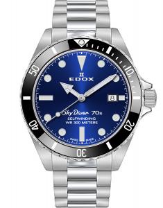 Edox SkyDiver Spirit of the 70s 80115 3N1M BUIN