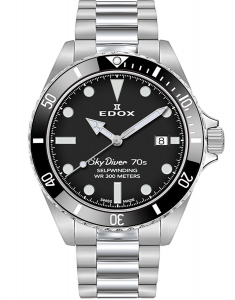 Edox SkyDiver Spirit of the 70s 80115 3N1M NN