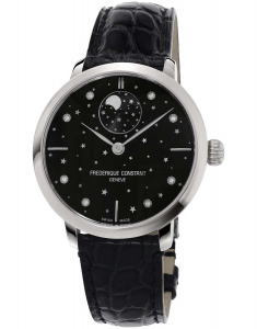 Frederique Constant Manufacture Slimline Moonphase FC-701BSD3S6
