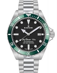 Edox SkyDiver Spirit of the 70s 80115 3VM NN